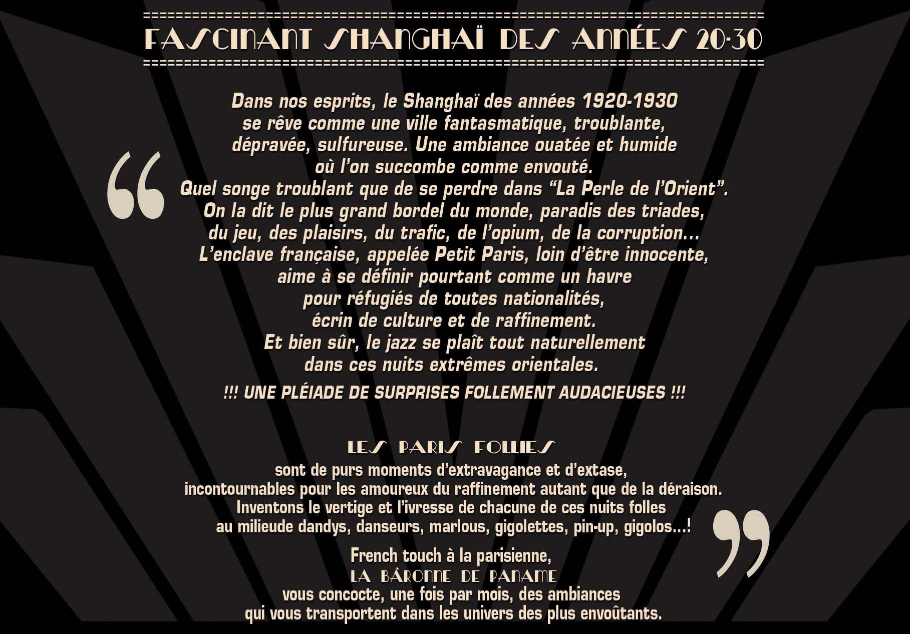 PARIS FOLLIES DE NOVEMBRE